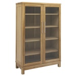 Inzel bookcabinet 2-door oak oiled