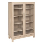Inzel bookcabinet 2-door ash blonde