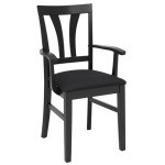 Inzel armchair V elm black, Nature black