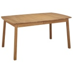 Verona table ellipse 160(48+48)x102cm oak oiled