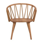 ZigZag lounge chair oak oiled