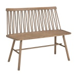 ZigZag bench ash grey