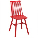 ZigZag chair elm red
