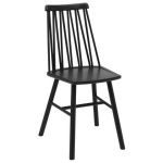ZigZag chair ash black