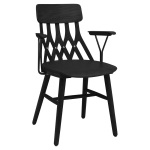 Y5 armchair ash black