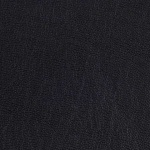 Bonded leather per meter black cal117