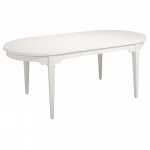 Bridgeport table oval 170(50+50)x100cm white