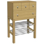 Enter chests shoerack oak oiled