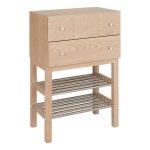 Enter chests shoerack ash blonde