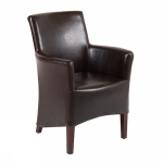 Canon clubchair brown bycast