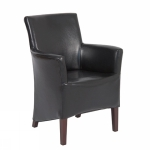 Canon clubchair  black bycast