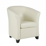 Olympus clubchair bycast white