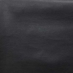Bonded leather per meter black emb