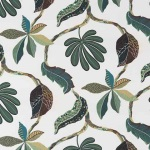Fabric per meter Tahiti green